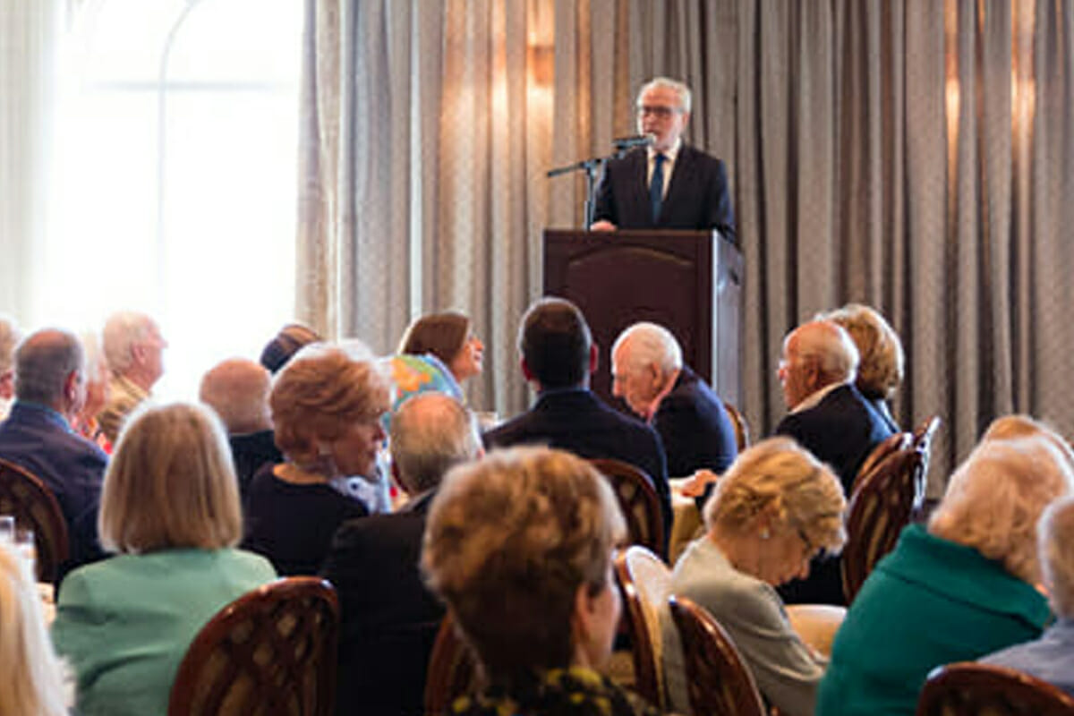 Wolf Blitzer Headlines Benefactor Luncheon, Morselife Clubs and Activities, MorseLife Foundation