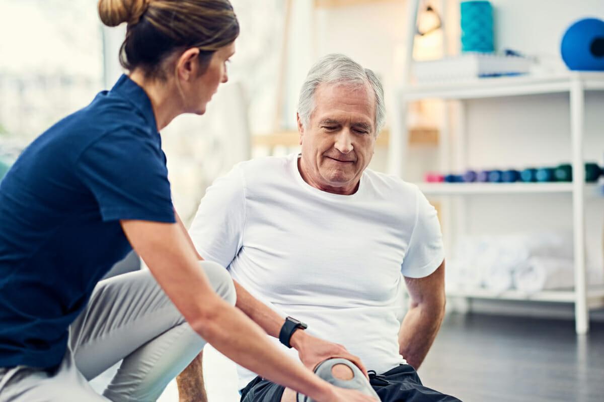 MorseLife Short-Term Rehab, Innovative Programs, Anti-Gravity Treadmill, Assisted Living