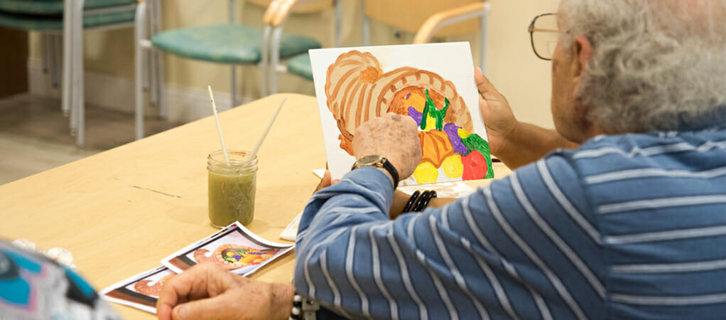 MorseLife Memory Care, Innovative Treatment, Art Therapy, Alzheimer's, Dementia