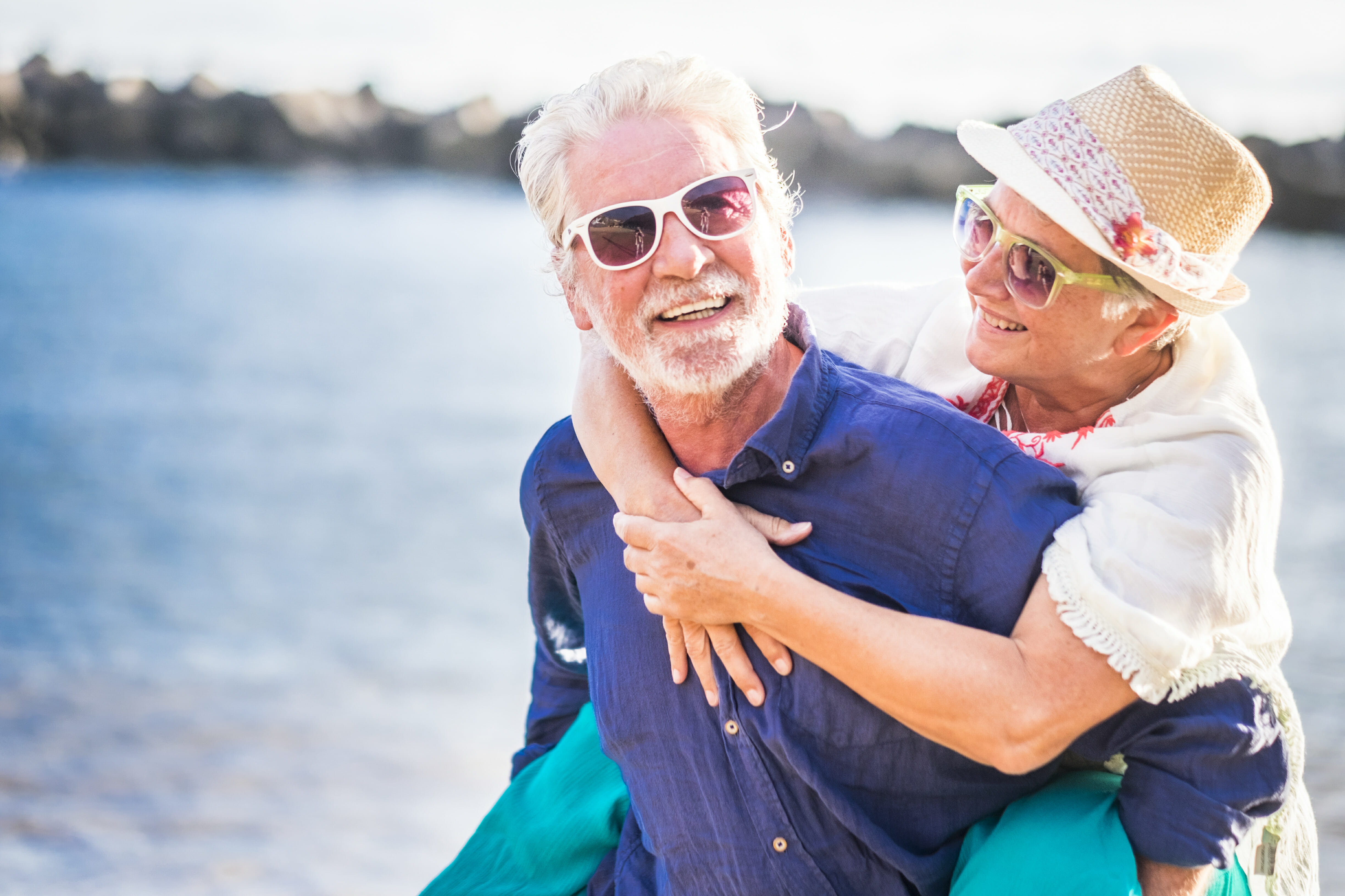 Senior couple enjoying golden years, Younging™, Luxurious Apartments, Independent Living, The Levin Palace