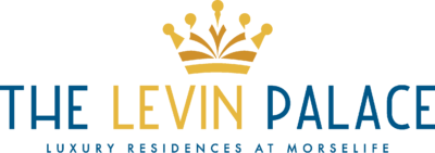 MorseLife's The Levin Palace logo with Tag Line Luxury Residences At MorseLife