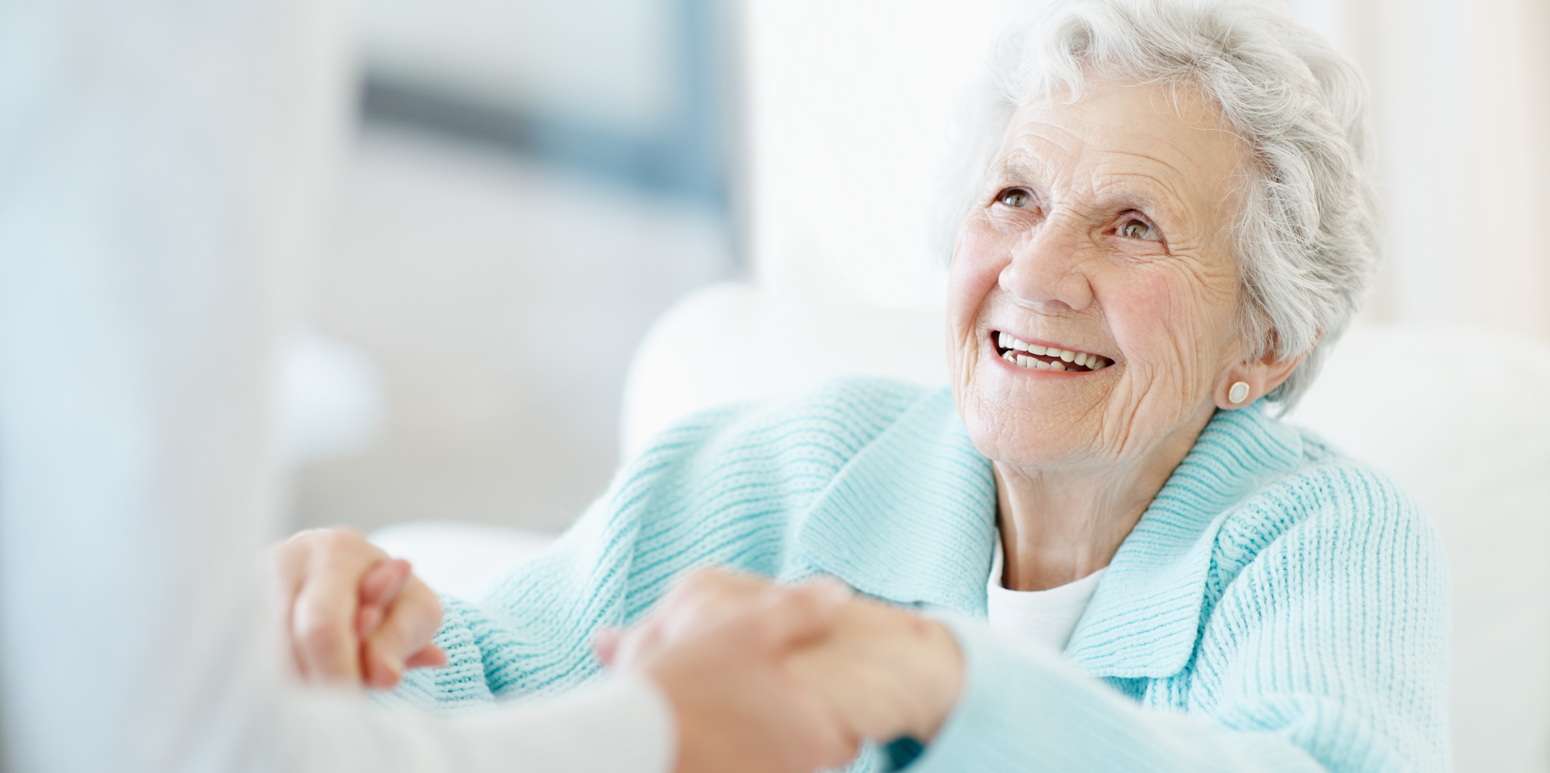 Elderly patient or resident in nursing home, skilled nursing, long term care facility.