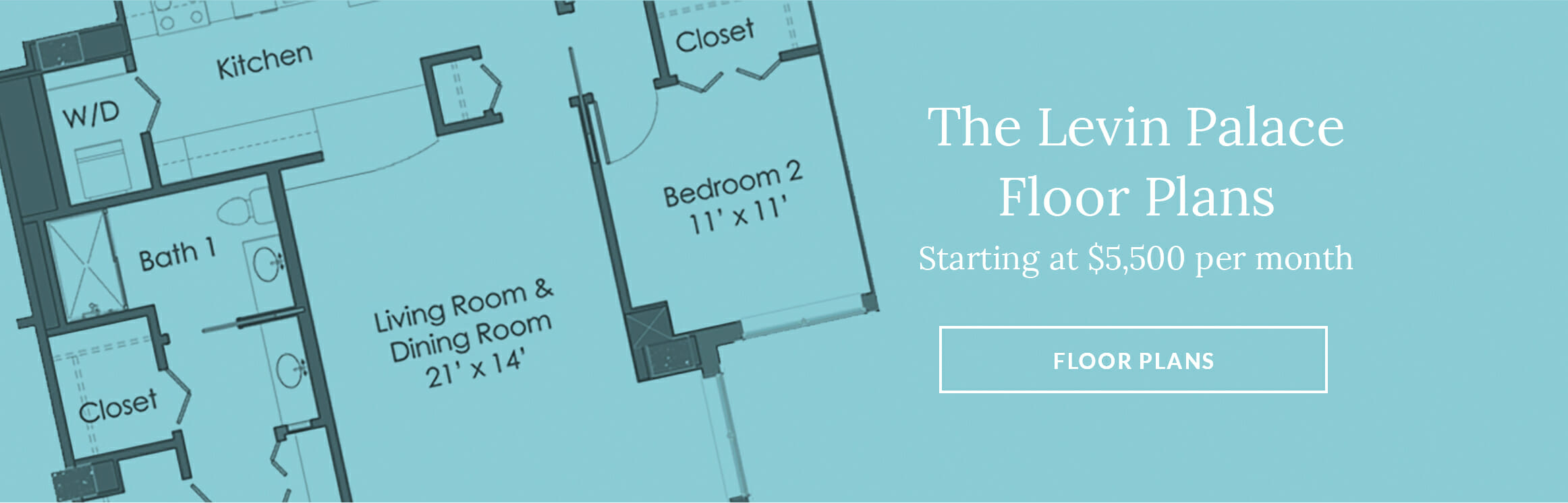 The Levin Place Luxurious Apartment Floor Plans - Starting at $5500 per month