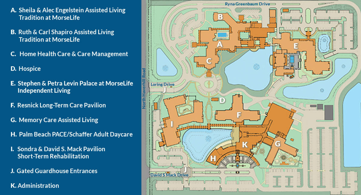 MorseLife Map of Campus