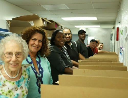 MorseLife Residents, Staff and Volunteers Package and Deliver High Holiday Meals to Community Seniors in Need