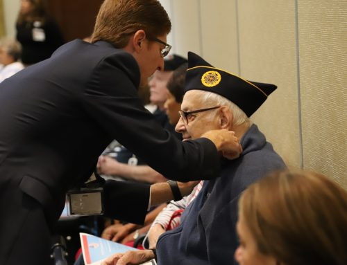 MorseLife Resident Veterans Were Honored During Special Veterans Day Ceremony