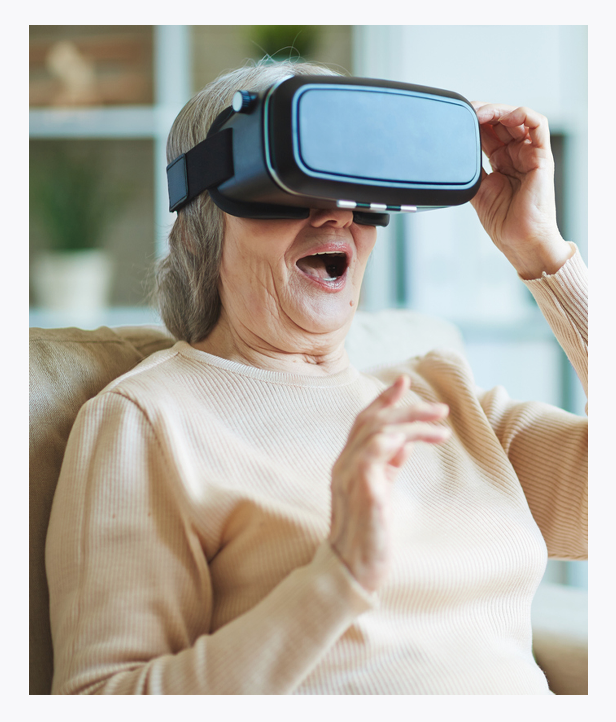 Innovative virtual memory stimulation programs, It's Never Too Late person-centered technologies, life-enriching programs