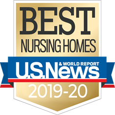 Accolade for Voted Best Nursing Home by US News & World Report
