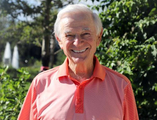 June Is Men's Health Month; MorseLife Resident, Norman Berlant, Shares Tips on Living a Long Healthy Life