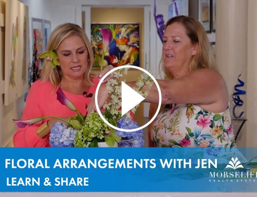 4/23/20 Learn & Share: Floral Arrangements with Jen