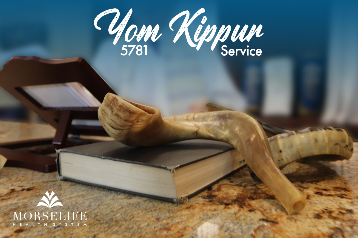 MorseLife Virtual Yom Kippur Service, Jewish, Facebook